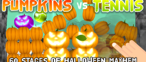 Pumpkins vs Tennis: Smashing Game