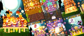 Halloween Pumpkins Swipe & Blast